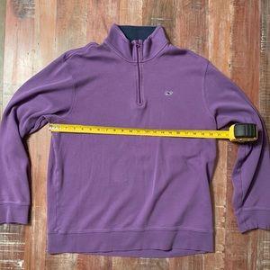 Vineyard Vines Shirts - Men's Large Vineyard Vines 1/4 ZIP Purple Pullover